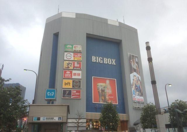 高田馬場的地標